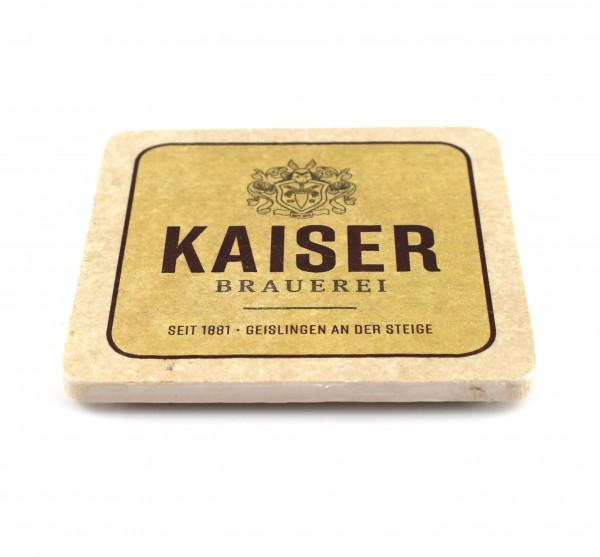 Kaiser Brauerei Steinuntersetzer 1
