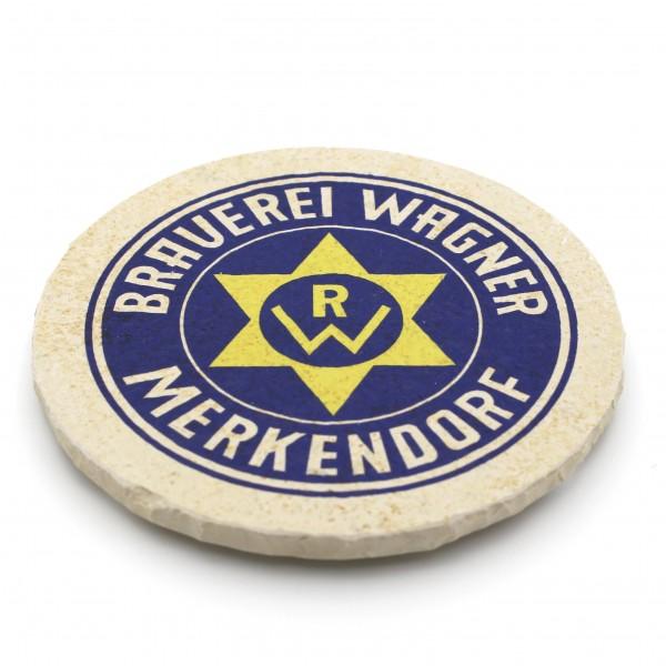 Brauerei Wagner Merkendorf Steinuntersetzer rund einzeln