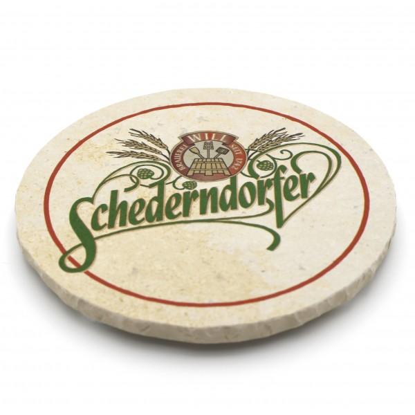 Schederndorfer Steinuntersetzer rund einzeln