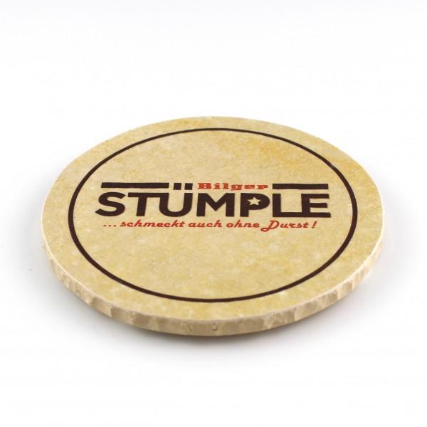 Stuemple Steinuntersetzer rund