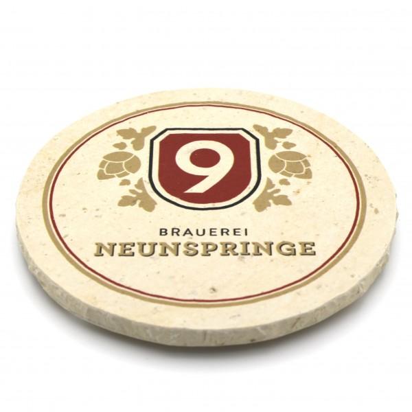 Brauerei Neunspringe Steinuntersetzter rund einzeln