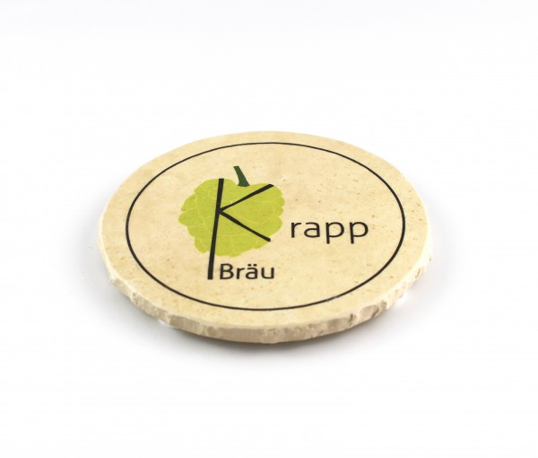 Krapp Bräu - Natursteinuntersetzer
