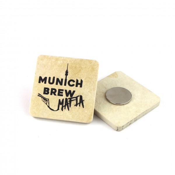 Munich Brew Mafia - Kühlschrankmagnet