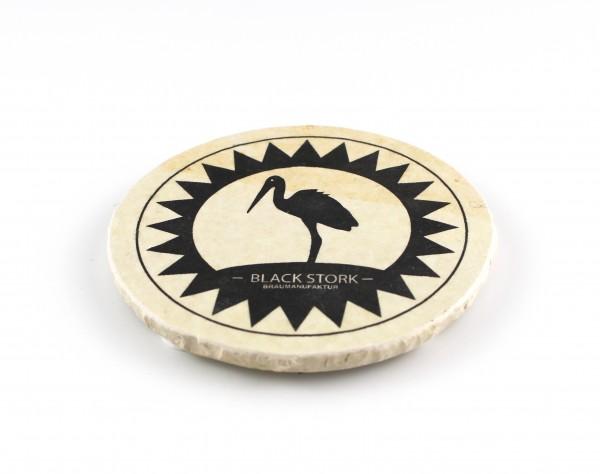 Blackstork Braumanufaktur - Natursteinuntersetzer