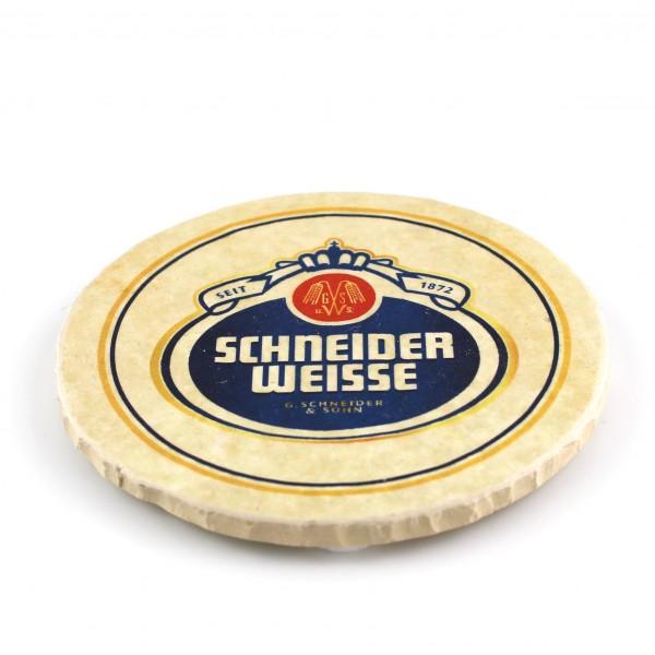 Schneider Weisse Steinuntersetzer rund
