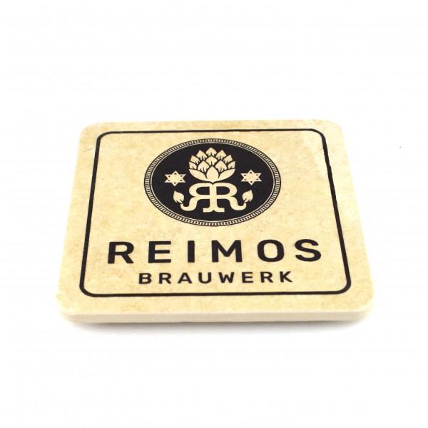Reimos Brauwerk - Natursteinuntersetzer
