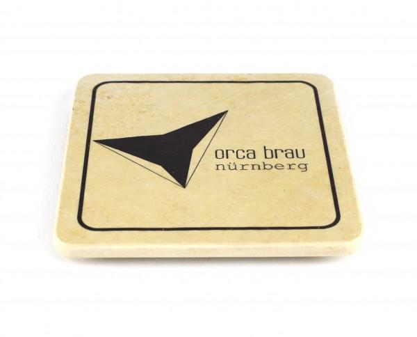Orca Bräu - Natursteinuntersetzer