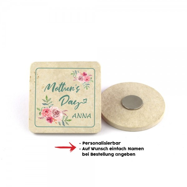 "Muttertagsmagnet ""Mothers Day"" - 6,5cm"