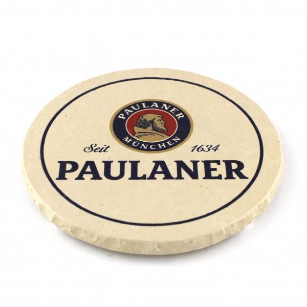 Paulaner Steinuntersetzer rund 2