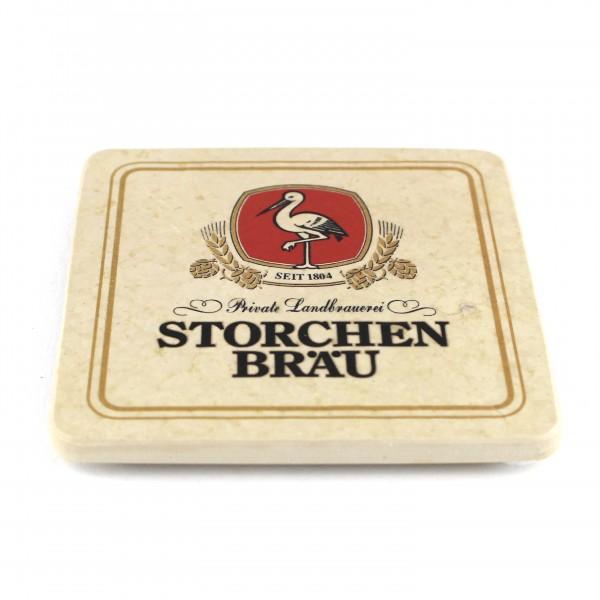 Storchenbräu Natursteinuntersetzer