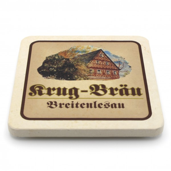 Krug Bräu - Natursteinuntersetzer