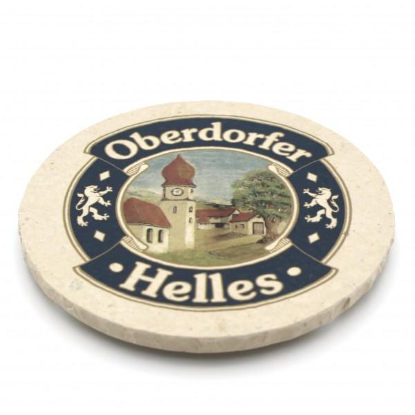 Oberndorfer Helles Steinuntersetzer rund einzeln