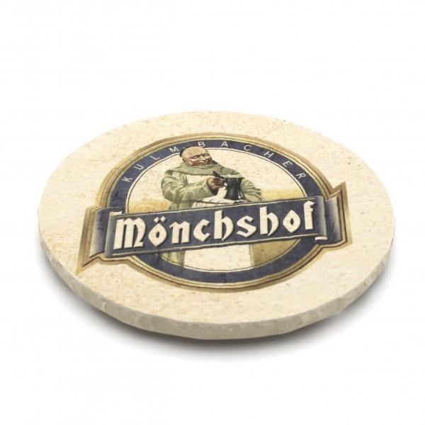 Mönchshof Steinuntersetzer rund
