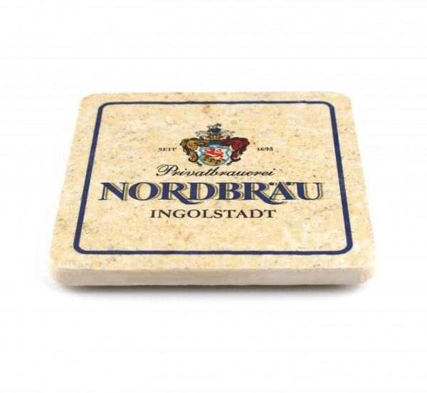 Nordbräu Steinuntersetzer quadr.