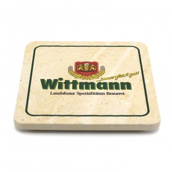 Wittmann Landshut Steinuntersetzer eckig einzeln