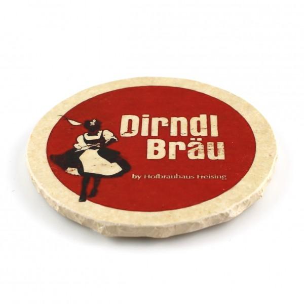 Dirndl Bräu Steinuntersetzer