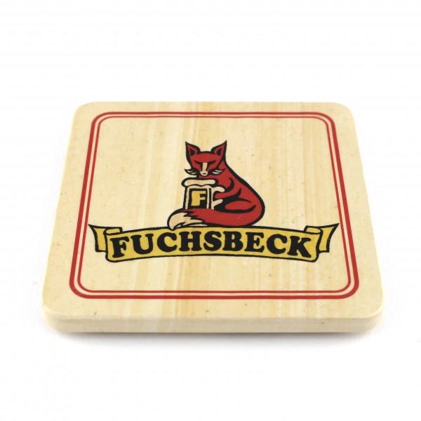 Fuchsbeck Steinuntersetzer eckig einzeln