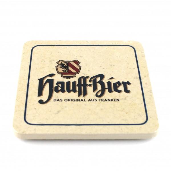 Hauff Bräu - Natursteinuntersetzer