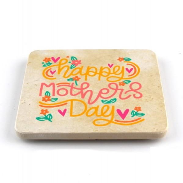 """Muttertagsfützl """"Happy Mothers Day"""" - quadratisch"""